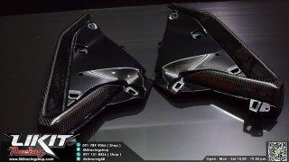 【国内在庫あり】ホンダ フォルツァ MF13 CARBON TECH カーボン フロントサイドインナー カバー パネル 左右セット 10300300