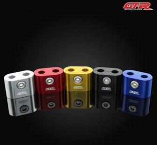 【一部国内在庫あり】ホンダ モンキー125 GTR ホース クランプ 配線 クランプ スロットル クランプ 7mm 5色 101060