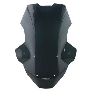 【国内在庫あり】ホンダ ADV150 SPEEDY ウインドシールド ウインドスクリーン ブラック ロングタイプ #3 10104700
