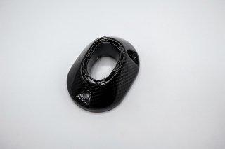 ホンダ PCX(JK05) PCX160(KF47)  カーボン マフラーエンド カバー キャップ