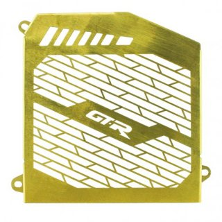 ヤマハ NMAX(2021-) GTR ラジエータ ガード グリル ステンレス ゴールド