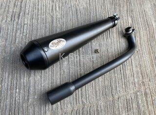 ホンダ スーパーカブ C125 マフラー ブラック