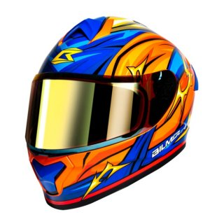 【国内在庫あり】Bilmola×Dragon Ball Z コラボ フルフェイス ヘルメット 悟空 タイプ L(59cm-60cm)