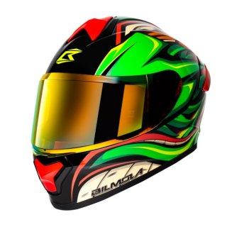 【国内在庫あり】Bilmola×Dragon Ball Z コラボ フルフェイス ヘルメット シェンロン タイプ L(59cm-60cm)