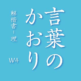 解楷書-理 W4   OpenType Std
