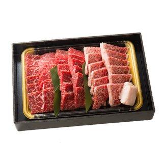 黒毛和牛モモ焼肉三種盛り 600g