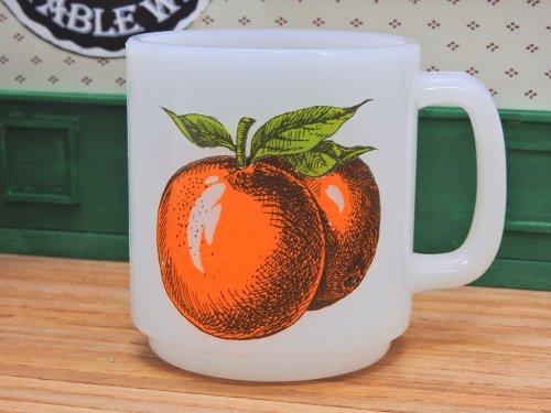 グラスベイク フルーツマグ オレンジ