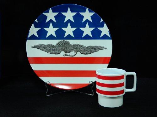 テキサスウェアプレート&ノーブランドマグカップセット