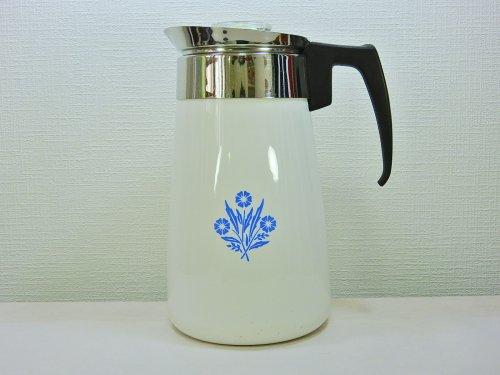 コーニング製 コーヒーパーコレーター ブルーコーンフラワー 9カップ用#3