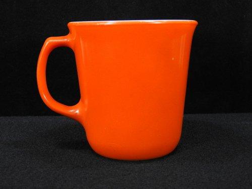 パイレックス マグカップ 赤茶#2