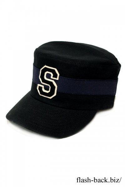 SOUTH ROAD EBBETS FIELD×SOUTH ROAD WORK CAP BLACK×C.GRAY