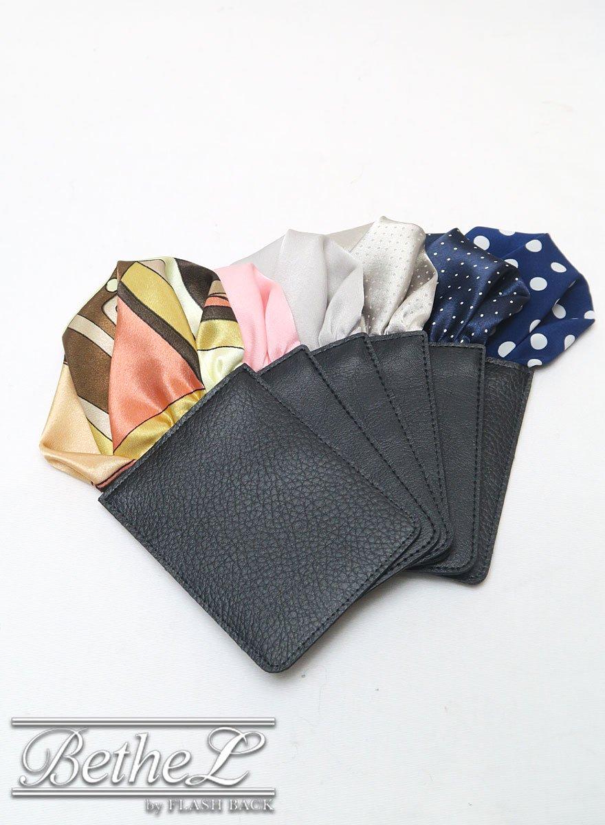 FixPon/フィックスポン ポケットチーフ パッフド・