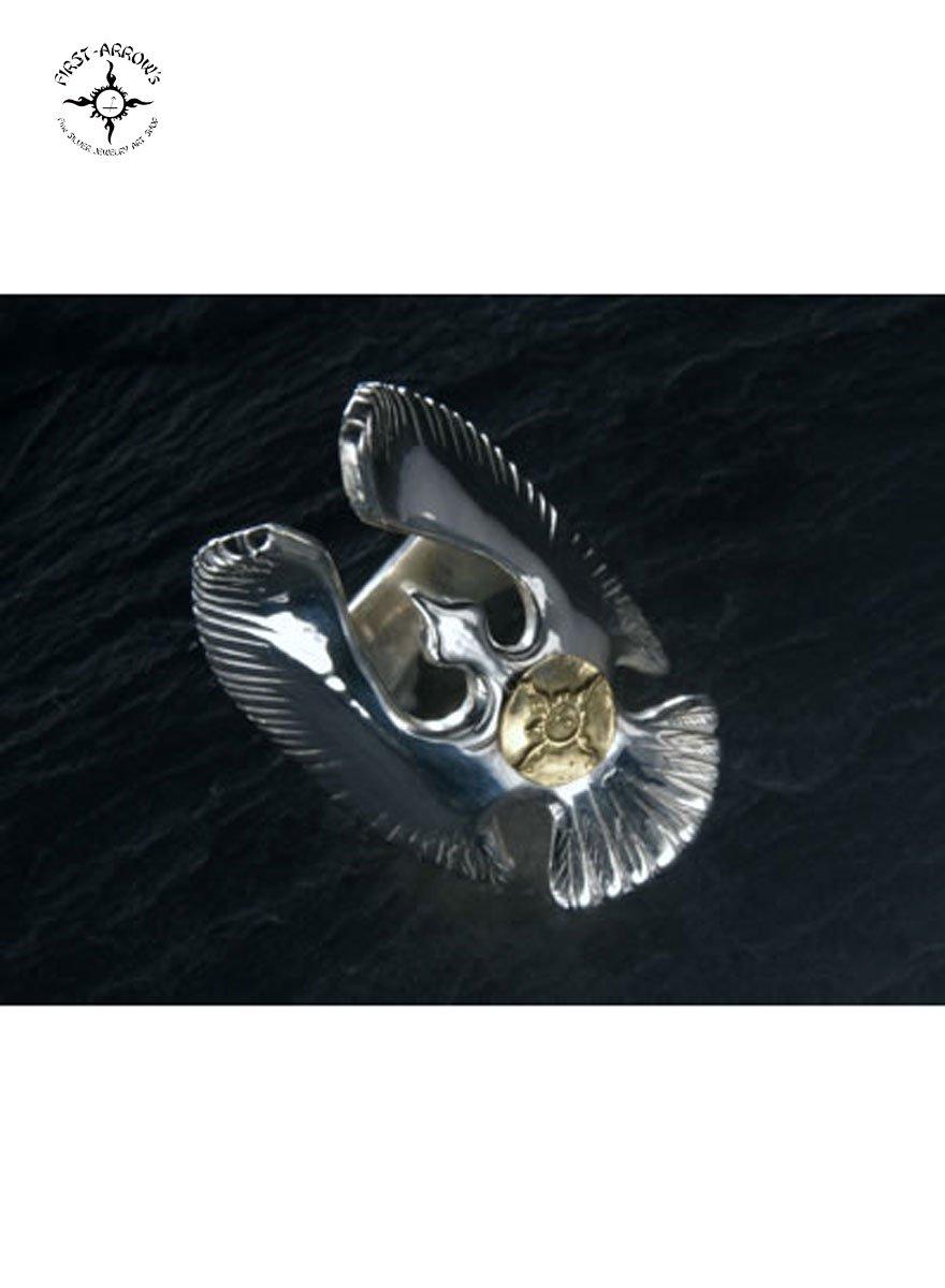 FIRST ARROW'S / ファーストアローズ K18付 EAGLE RING