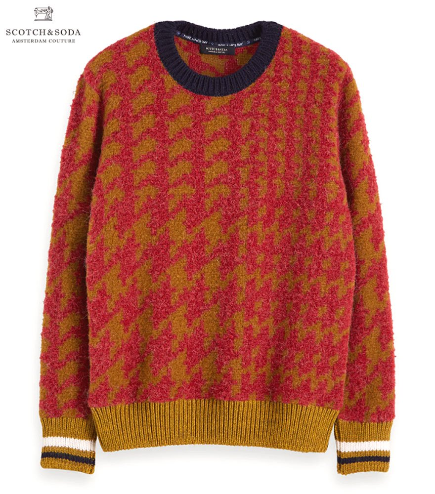 SCOTCH&SODA/スコッチ&ソーダ  Brushed Wool-Blend Pullover