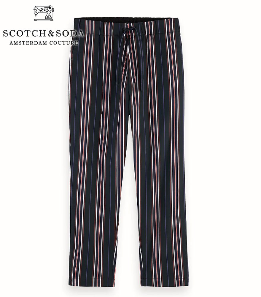 SCOTCH&SODA/スコッチ&ソーダ イージパンツ Loose Striped Trousers 292-11502 【155005】