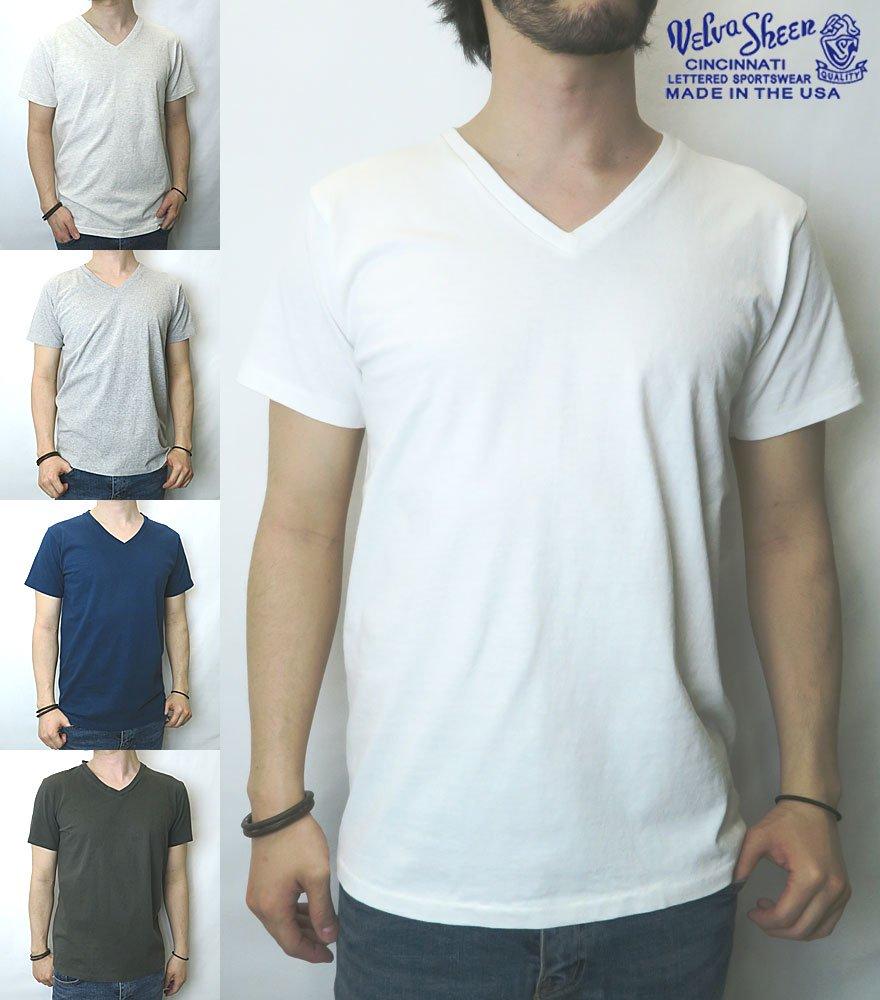 VELVA SHEEN/ベルバシーン V NECK T-SHIRT 全5色