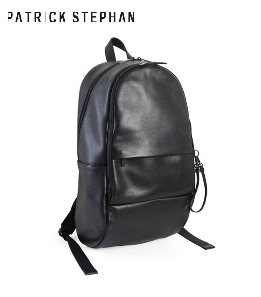 PATRICK STEPHAN/パトリックステファン バッグパック Leather backpack 'round double F'