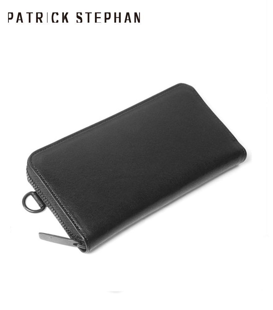 PATRICK STEPHAN/パトリックステファン ロングウォレット Leather long wallet fold 'minimal' shine 2 RF