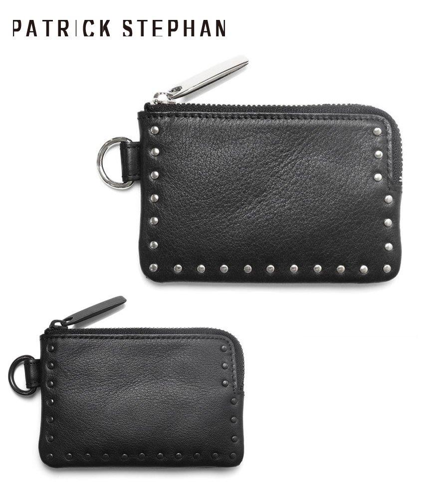 PATRICK STEPHAN/パトリックステファン コインケース Leather coin case 'corner studs' KS 全2色