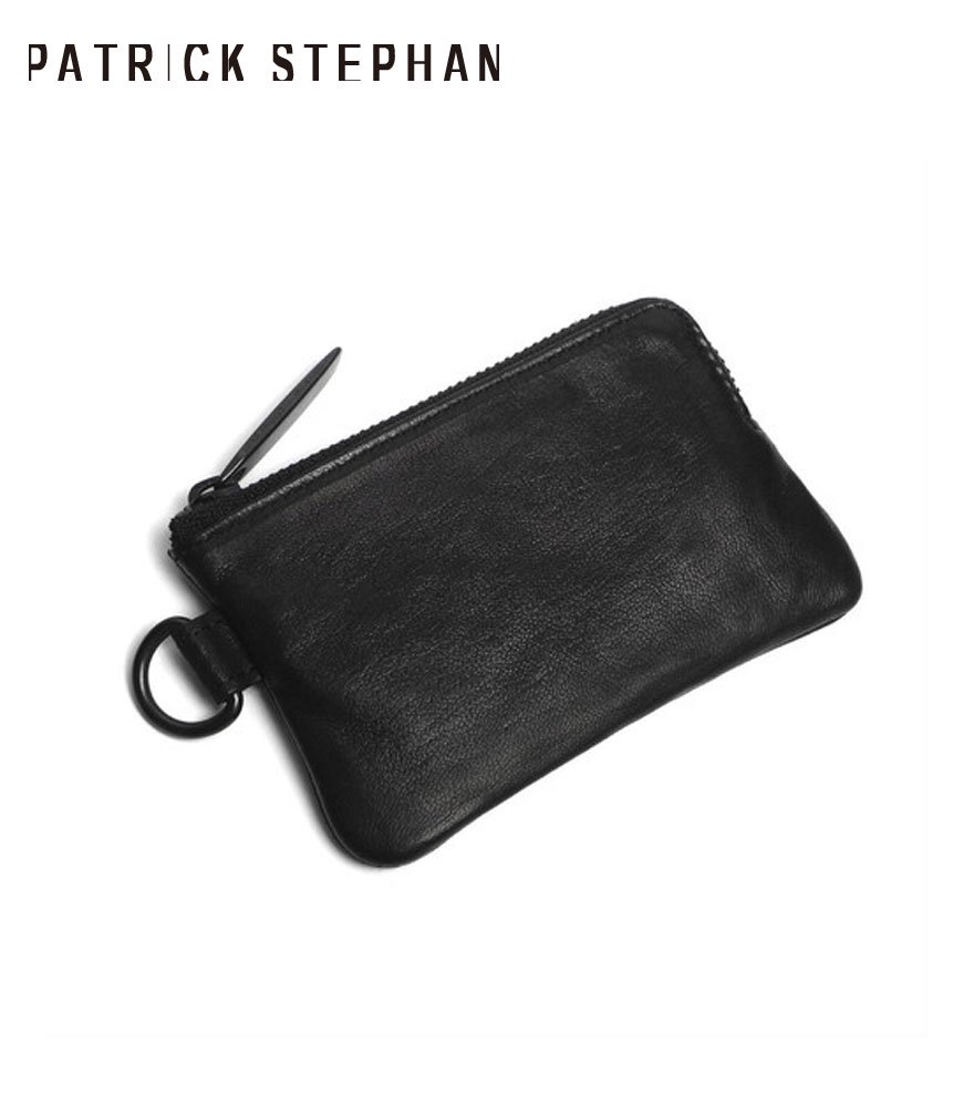 PATRICK STEPHAN/パトリックステファン コインケース Leather coin case 'minimal' shine