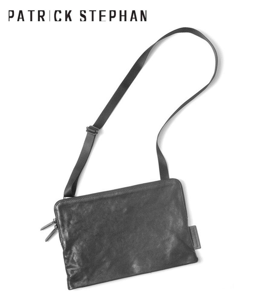PATRICK STEPHAN/パトリックステファン サコッシュ Leather shoulder bag 'pouch'
