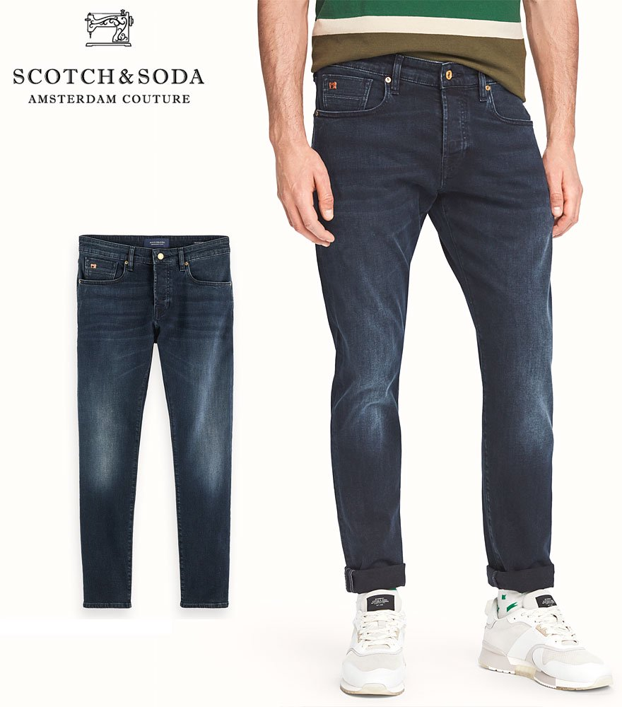 SCOTCH&SODA/スコッチ&ソーダ ジーンズ Ralston - Shooting Star Slim-Fit Longer Length Jeans 282-25537【156729】