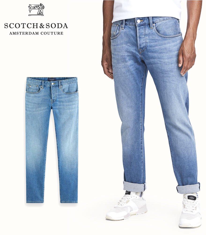 SCOTCH&SODA/スコッチ&ソーダ ジーンズ Ralston - Spyglass Light Slim Fit Jeans 282-25543【156737】