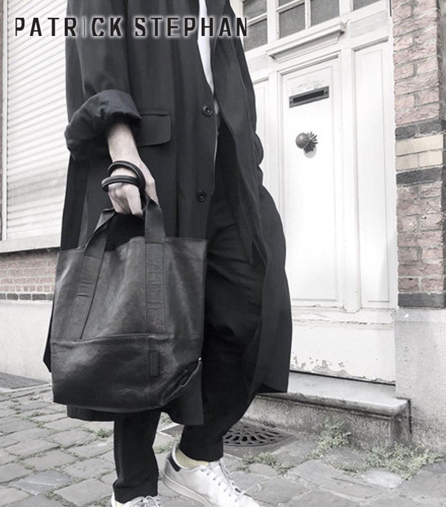 PATRICK STEPHAN/パトリックステファン トートバッグ Leather tote 'thin & light' 2