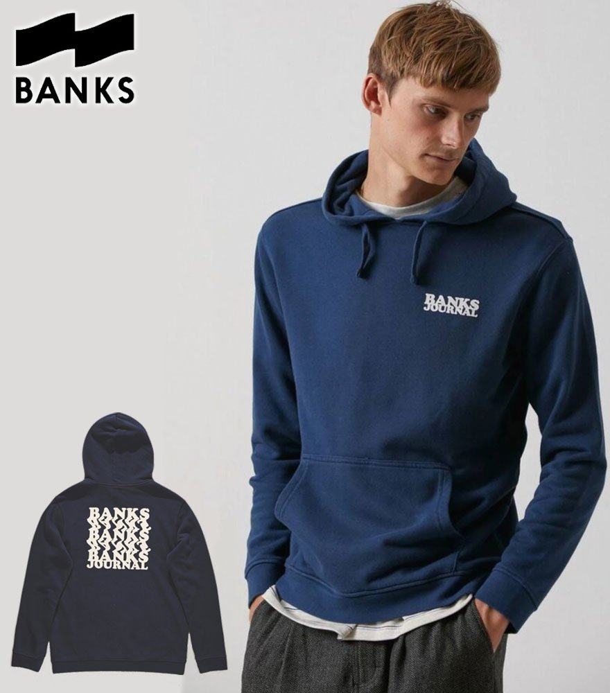 BANKS JOURNAL/バンクスジャーナル  WARPED FLEECE