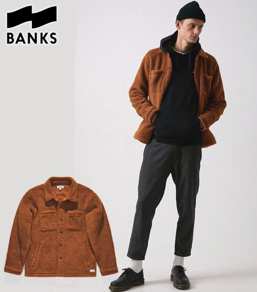 BANKS JOURNAL/バンクスジャーナル INSTALLATION FLEECE