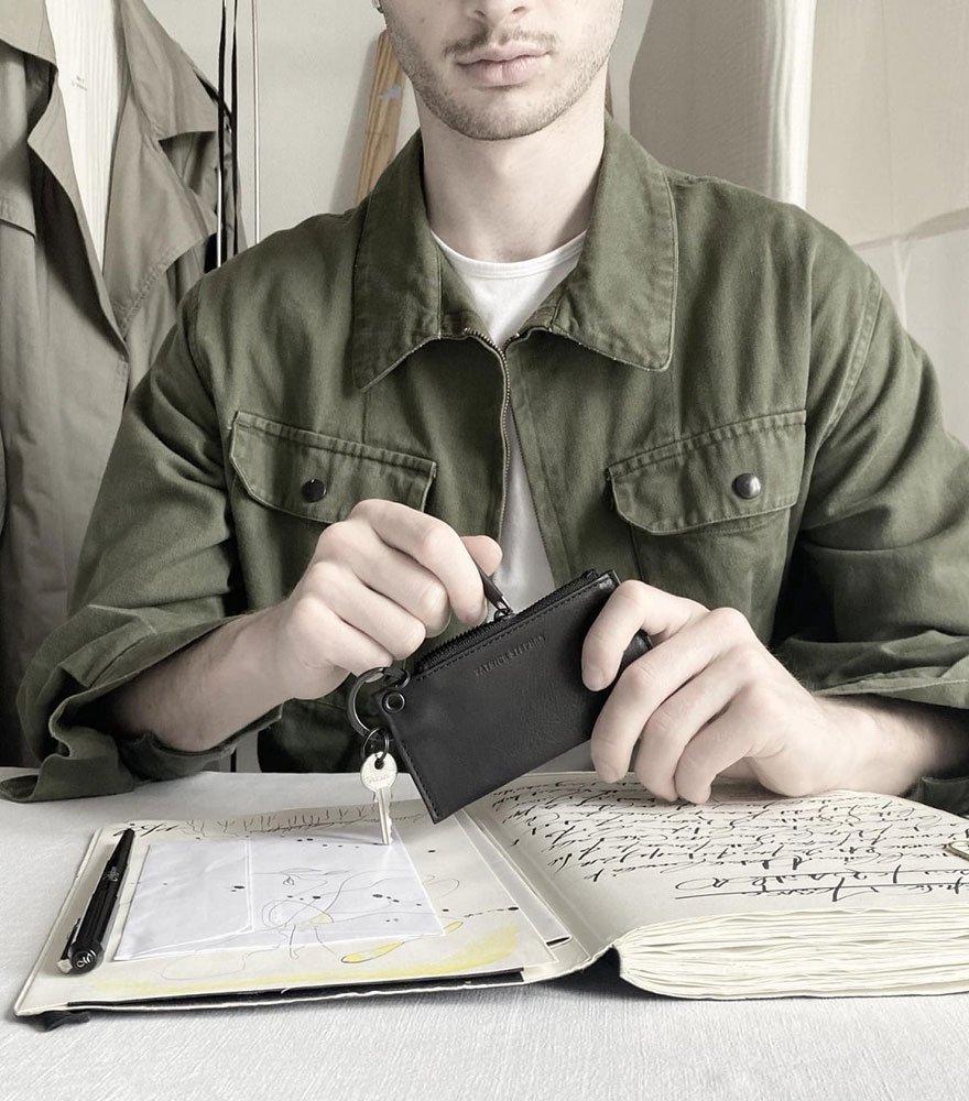 PATRICK STEPHAN/パトリックステファン キーケース Leather key case & holder 20 全3色