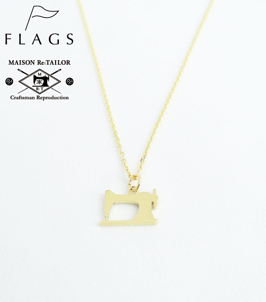 FLAGS/フラッグス MAISON Re:TAILOR別注 アイコンチャームペンダント K18 GOLD