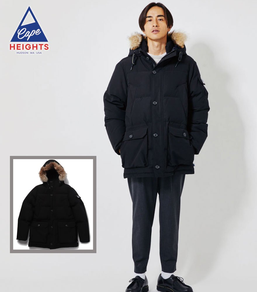 Cape HEIGHTS/ケープハイツ  FAIRFIELD JACKET BLACK