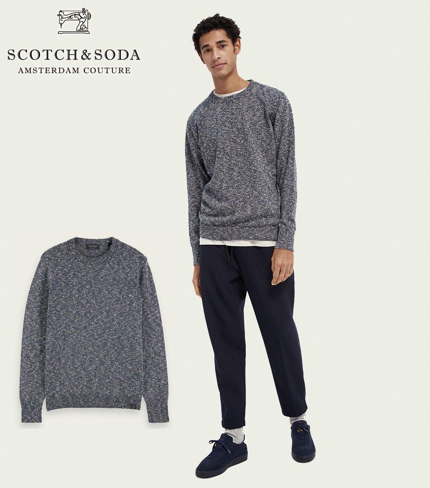SCOTCH&SODA/スコッチ&ソーダ グラデーションメランジニット 292-25435 【158635】