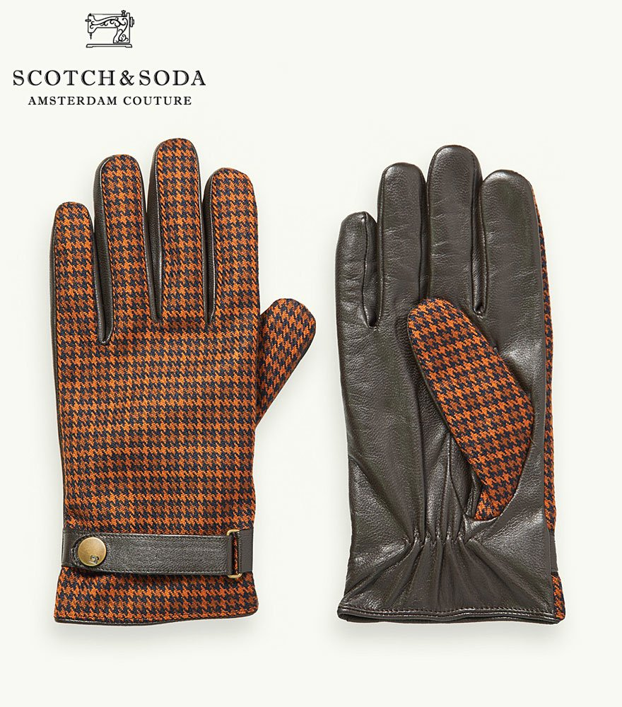 <img class='new_mark_img1' src='https://img.shop-pro.jp/img/new/icons14.gif' style='border:none;display:inline;margin:0px;padding:0px;width:auto;' />SCOTCH&SODA/スコッチ&ソーダ レザーグローブ 292-28701【158727】