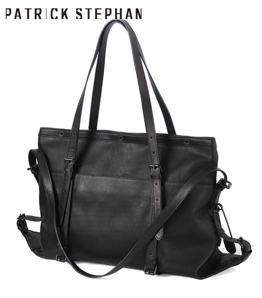 PATRICK STEPHAN/パトリックステファン トートバッグ Leather bag 'atelier' M 20