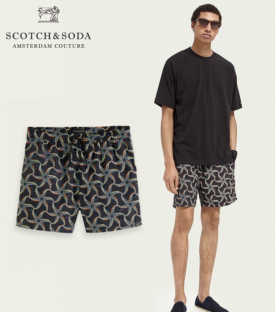 <img class='new_mark_img1' src='https://img.shop-pro.jp/img/new/icons14.gif' style='border:none;display:inline;margin:0px;padding:0px;width:auto;' />SCOTCH&SODA/スコッチ&ソーダ スウィムパンツ Printed recycled nylon swim shorts 292-38601 【160601】