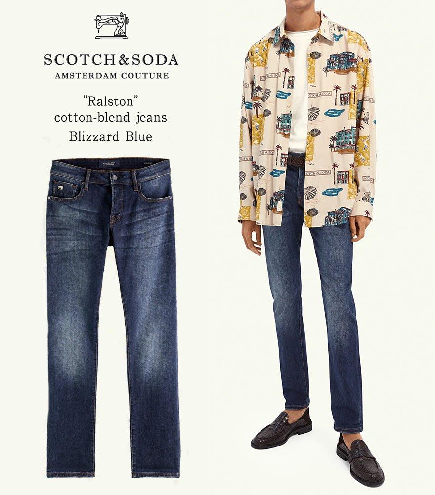 SCOTCH&SODA/スコッチ&ソーダ スリムフィットデニム RALSTON - Regular Slim-Fit  292-35510【159641】