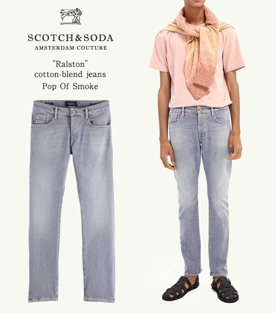 SCOTCH&SODA/スコッチ&ソーダ スリムフィットデニム RALSTON - Regular Slim-Fit  292-35515【159662】
