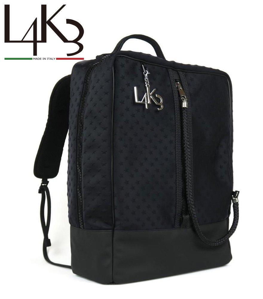 L4K3/レイク BAG PACK BP-02JP 【スター ブラック】