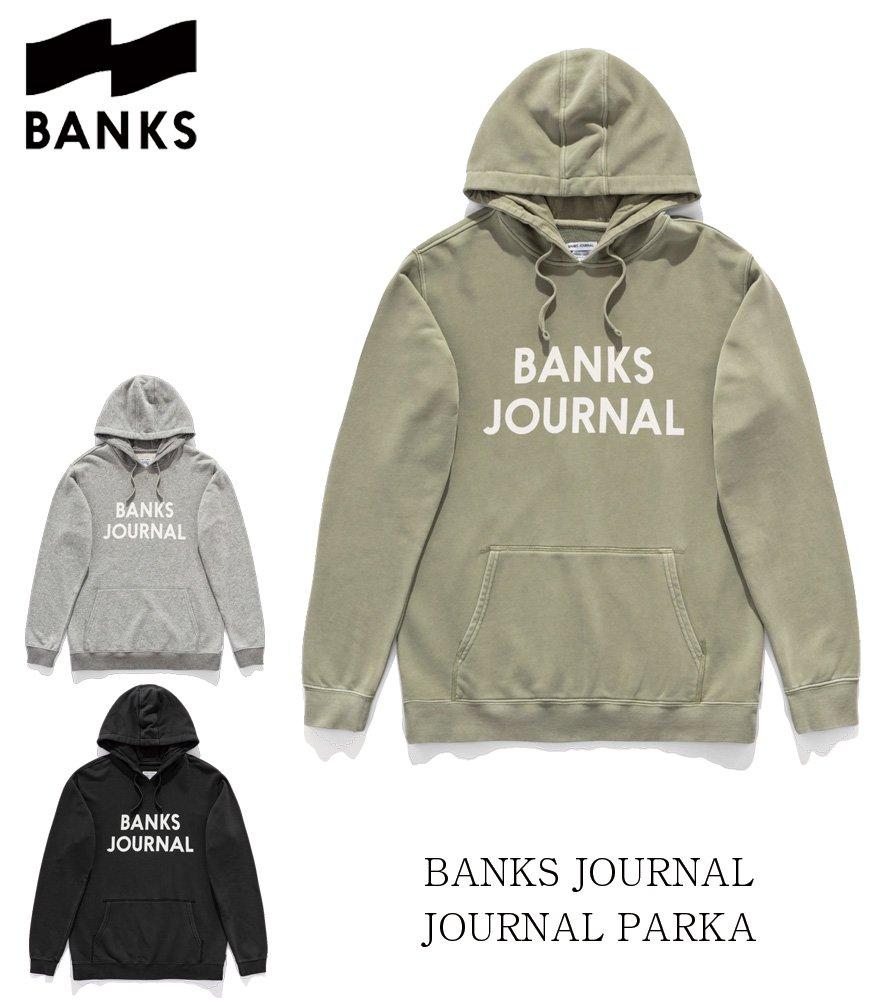 BANKS JOURNAL/バンクスジャーナル  JOURNAL PARKA 全3色