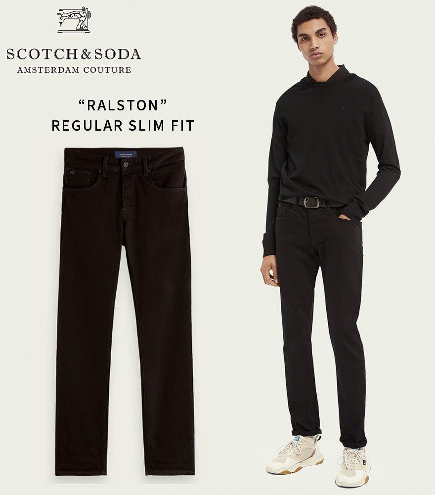 SCOTCH&SODA/スコッチ&ソーダ スリムフィットデニム RALSTON - Regular Slim-Fit  210-45507【144846】