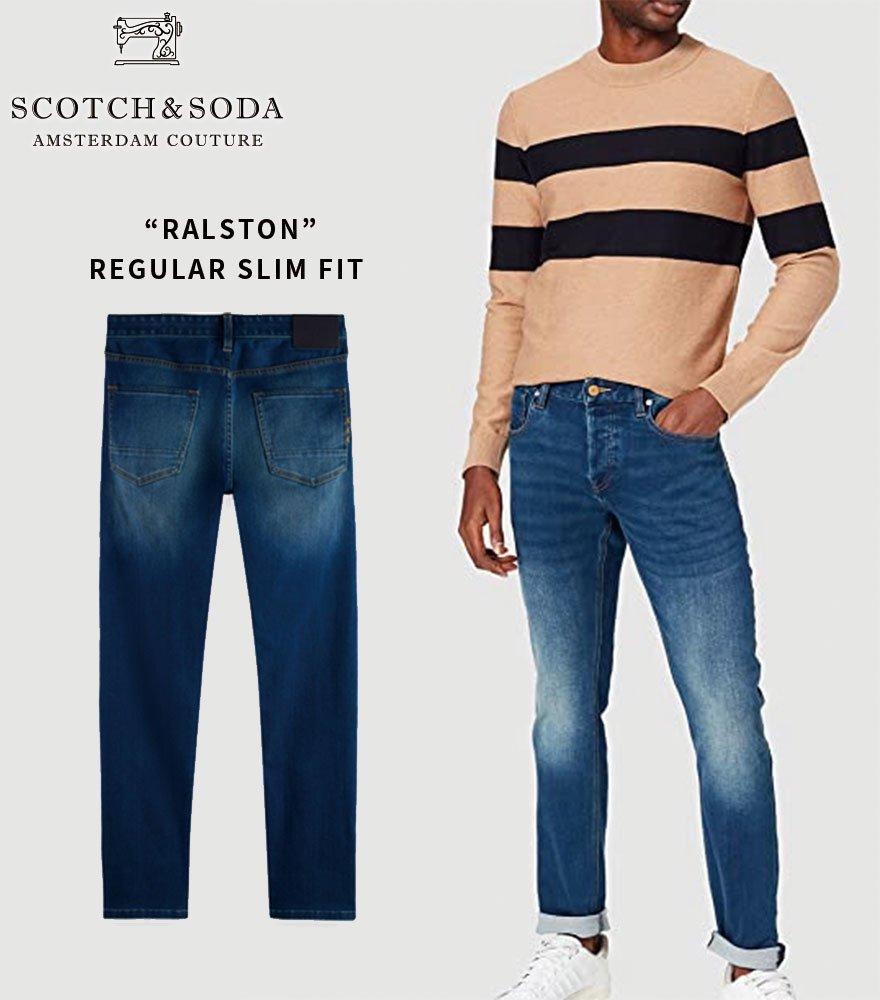 SCOTCH&SODA/スコッチ&ソーダ スリムフィットデニム RALSTON 292-45516【163214】