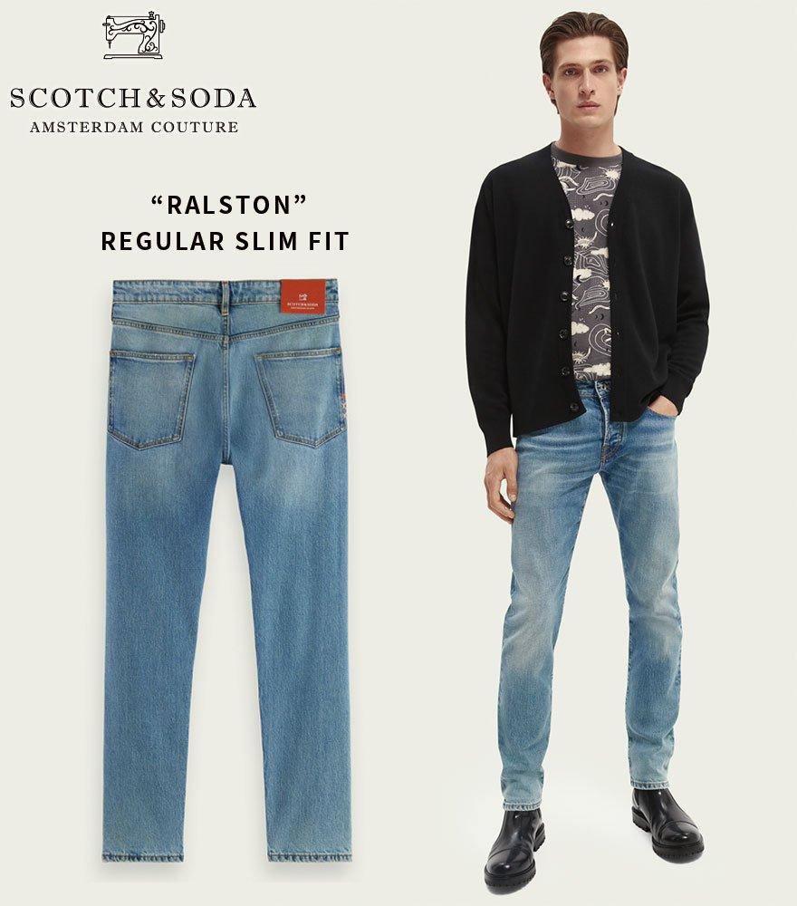 SCOTCH&SODA/スコッチ&ソーダ スリムフィットデニム RALSTON 292-45512【163210】