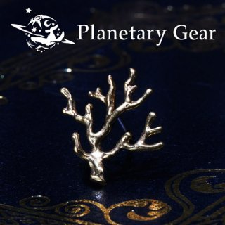 【 Planetary Gear 】『 pict 』/ 宝石サンゴ / Pierce