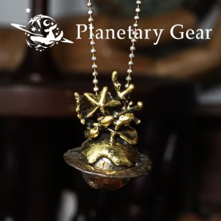【 Planetary Gear 】深海の惑星ネックレス
