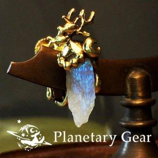 【 Planetary Gear 】 星のカケラのイヤリング ( ペリステライト )