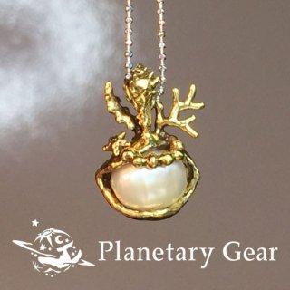 【 Planetary Gear 】 『  海のしずく 』/ 淡水パール / Necklace