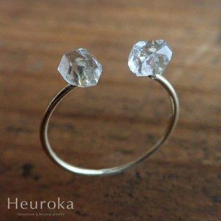 【 Heuroka 】ハーキマーダイヤモンドのピンキーリング