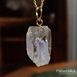【 Heuroka 】デュモルチェライト in クォーツのネックレス